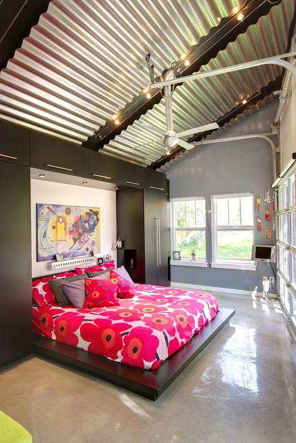 Industrial Design Bungalow In Slc Contemporary Bedroom
