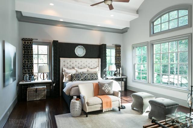Innovation House 2013 - Master Bedroom transitional-bedroom