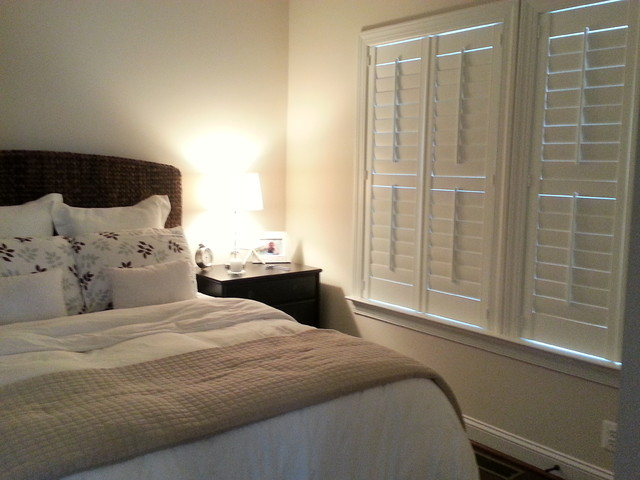 Inside mounted shutters traditional bedroom dc metro by