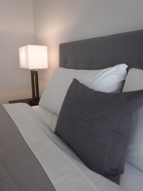 Insignia towers seattle condo contemporary bedroom for Insignia interior design decoration