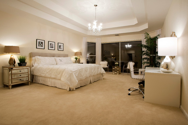 Inspired By The Glamour Of Old Hollywood Midcentury Bedroom