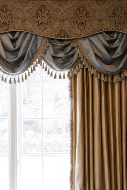 Inspiring Window Treatments traditional-bedroom