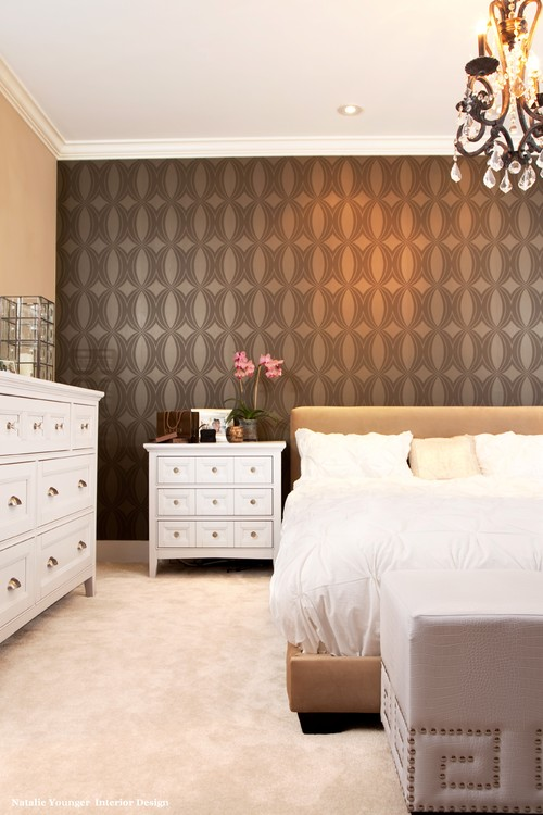 SimoneDesignBlog~Decorating The Wall Behind Your Bedroom Headboard
