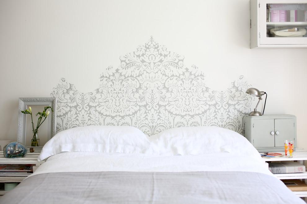 Trendy bedroom photo in Dorset