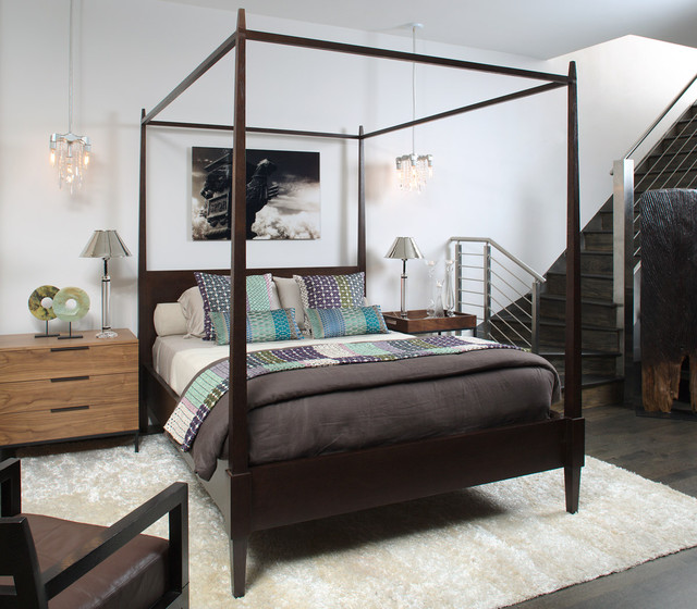 Interieurs Design Studio by Francine Gardner contemporary bedroom