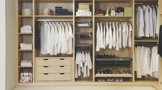 Interior Bedroom Storage Solution - Contemporary - Bedroom ...