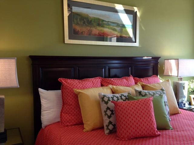 Interior Design - Canyon Lakes (Green, Orange, Gold ...