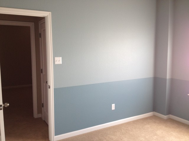 Interior Painting: Bold Colors traditional-bedroom