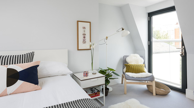 Interior styling scandinavian bedroom london by for Interior stylist london