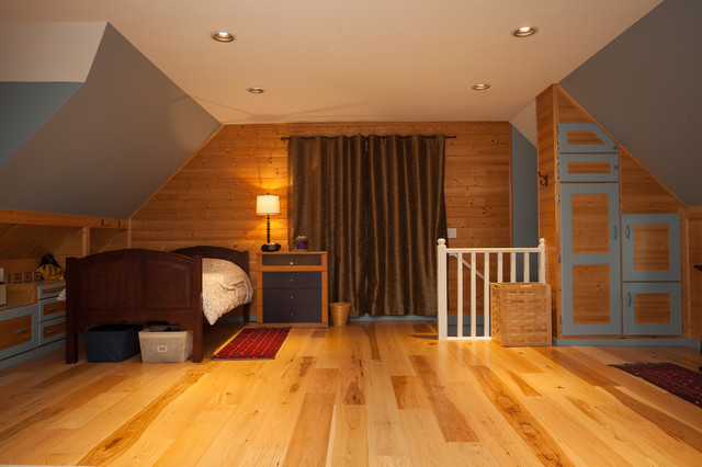 Interior Update & Remodel - 'Family Friendly Contemporary Country' traditional-bedroom