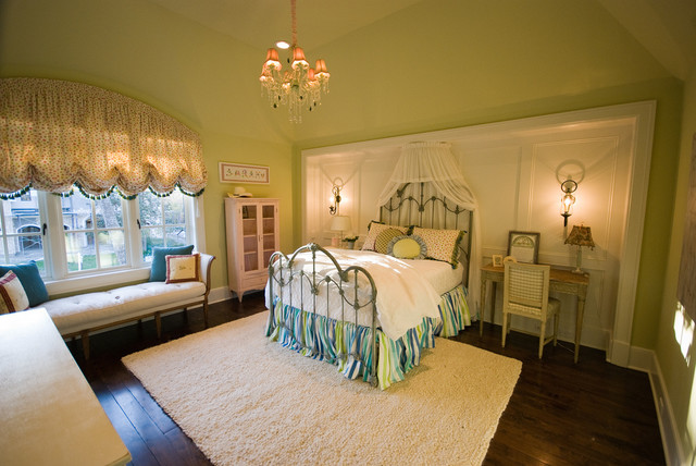 Interiors and Exteriors traditional-bedroom