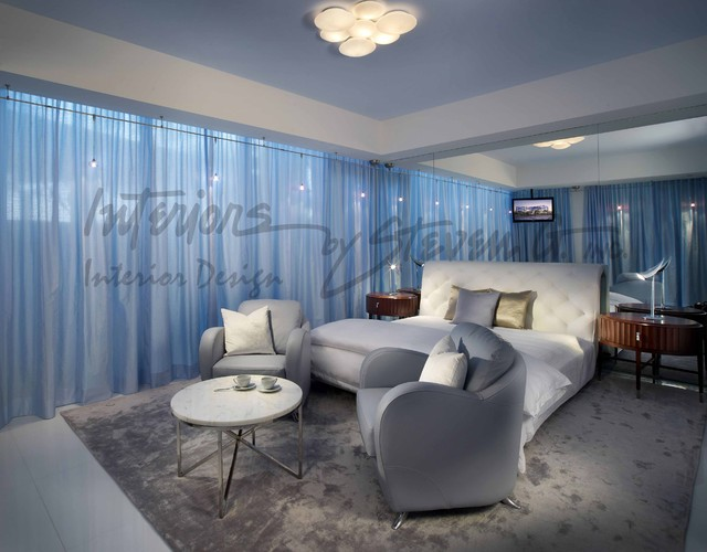 Interiors by steven g modern bedroom miami by for Steven g interior designs