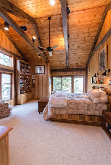 Interiors rustic-bedroom