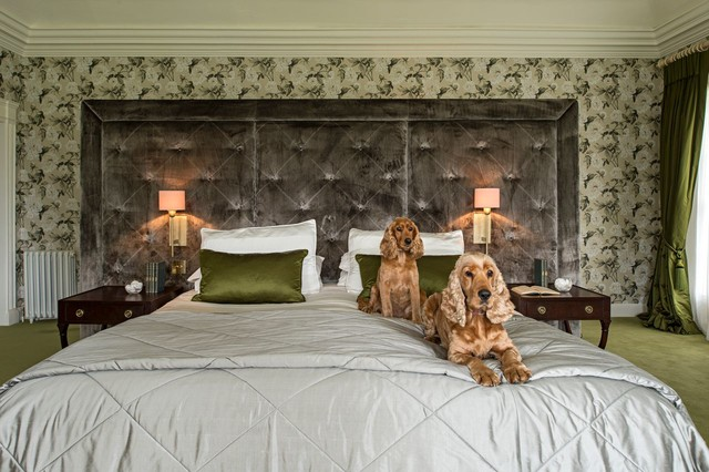 Irish stud farm traditional bedroom dublin by for Irish bedroom designs