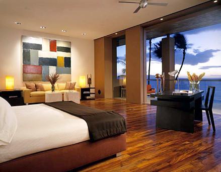 Island Estate modern-bedroom