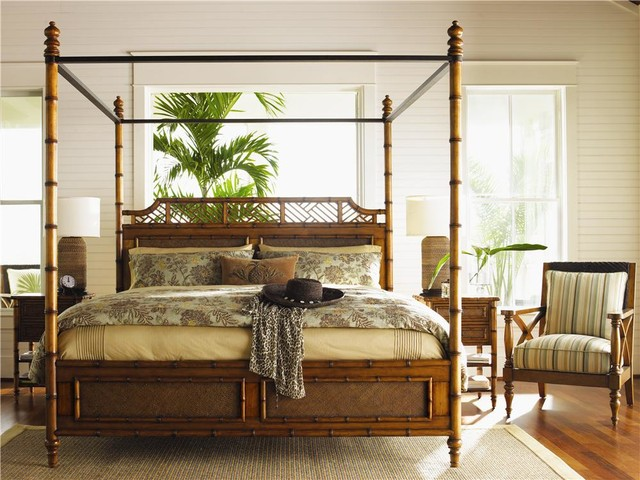 island estate kingsize west indies canopy bed