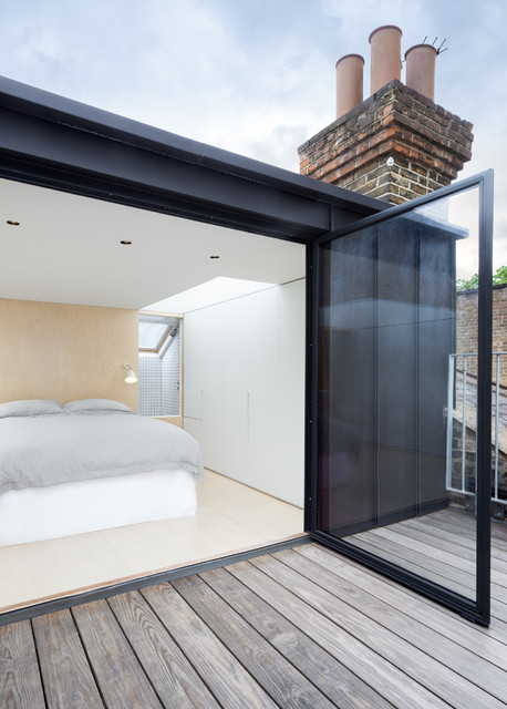 Islington Loft contemporaneo-camera-da-letto