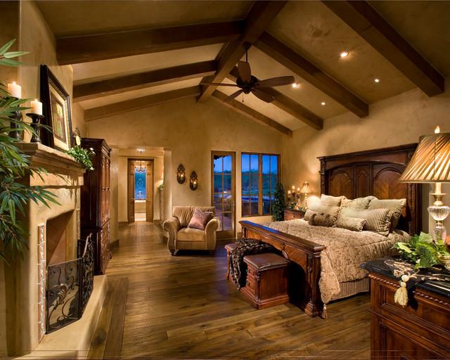 italian farmhouse - mediterranean - bedroom - phoenix -the