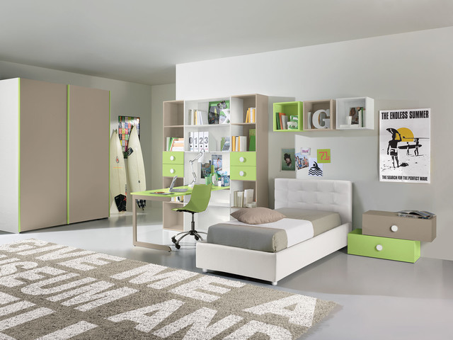Italian Kids Bedroom Furniture Set VV G002 - Call For Price ...