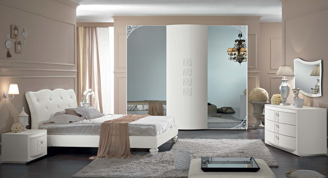 Italian neoclassical bed bedroom orchidea by spar 1 contemporaneo camera da - Spar camere da letto prestige prezzi ...