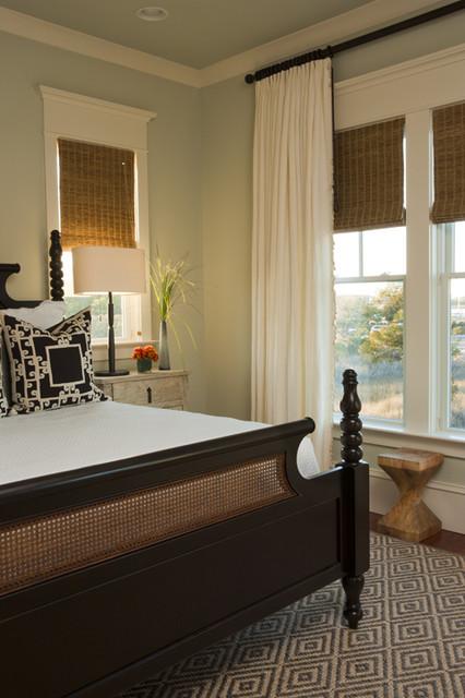J. BROWN CONTRACTORS tropical-bedroom