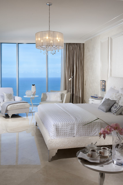 Jade Beach contemporary bedroom