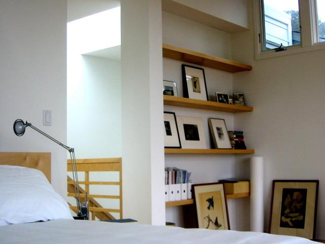 James Hill Arrchitect contemporary-bedroom
