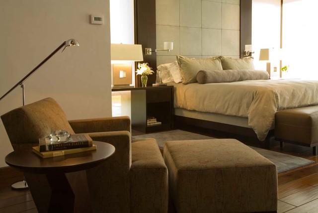 jamesthomas, LLC contemporary-bedroom