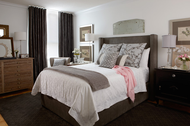 Jane Lockhart Bedroom Makeover Traditional