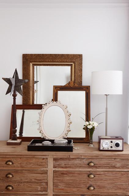 Eclectic Bedroom by Jane Lockhart Interior Design