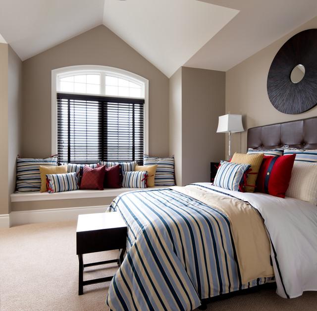 Jane Lockhart Interior Design Transitional Bedroom