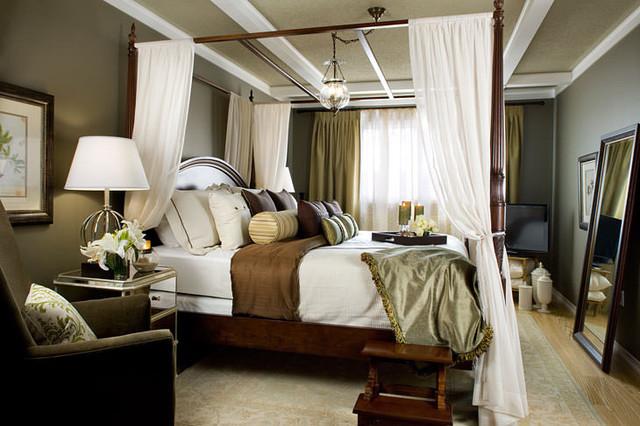 Jane lockhart romantic bedroom traditional bedroom for Interior design bedroom traditional