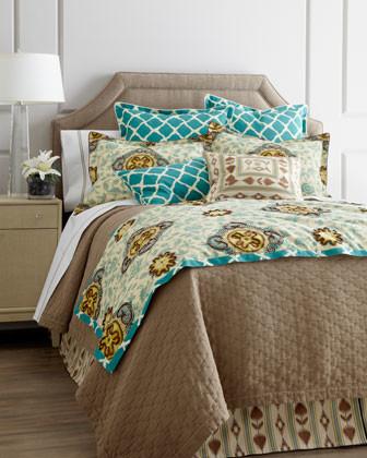"Jane Wilner Designs ""Malabar"" Bed Linens traditional-bedroom"