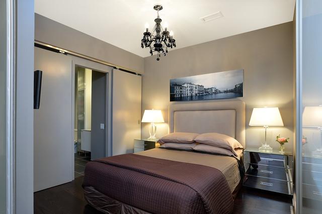 Janet Williams Interiors condo design - Contemporary - Bedroom ...