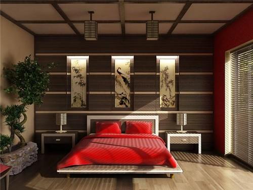 χρώματα feng shui, υπνοδωμάτιο
