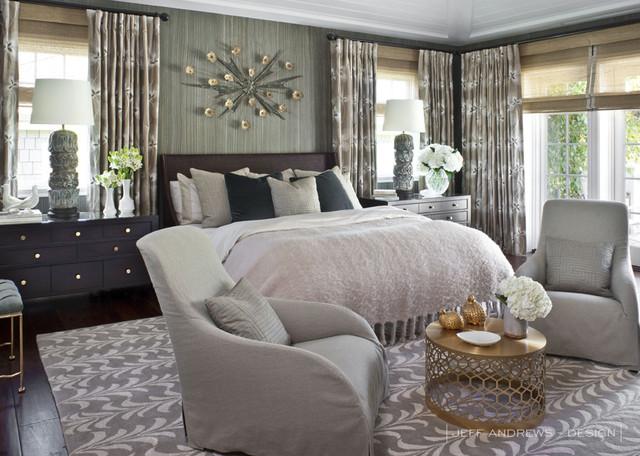 Jeff Andrews   Design Contemporary Bedroom