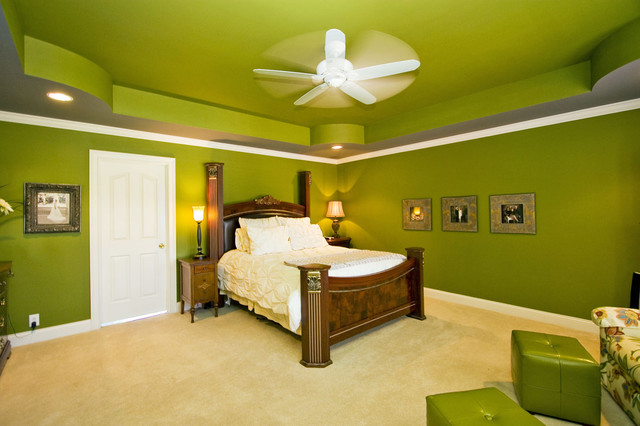 Jeffrey Johnson eclectic bedroom