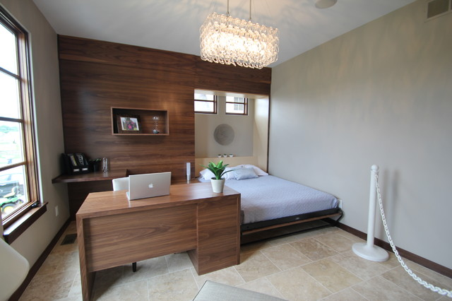 Jerry Bussanmas contemporary bedroom