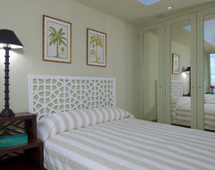 Jerry Jacobs Design: Interior Design San Francisco Bay Area tropical bedroom
