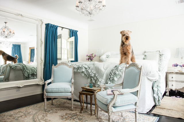 Jessica Simpson Home Shabby Chic Style Bedroom Los Angeles By Rachel Ashwell Shabby Chic