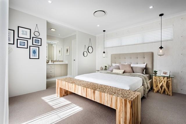 Jindalee Display Home   Perth Coastal Bedroom