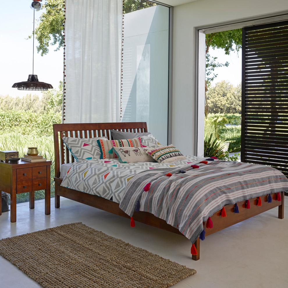 Eclectic bedroom photo in London