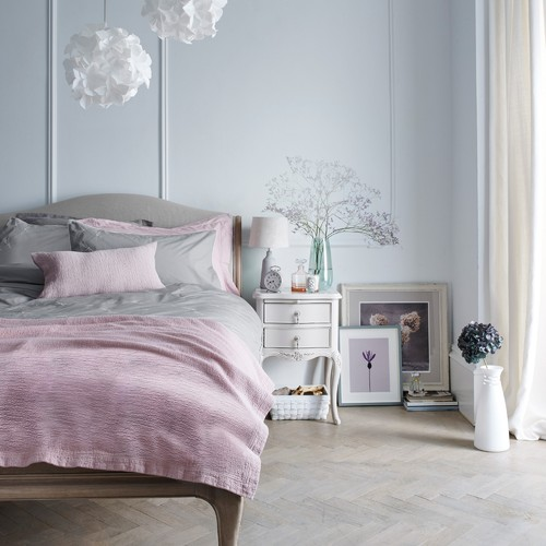 John Lewis Rose Mist Bedroom