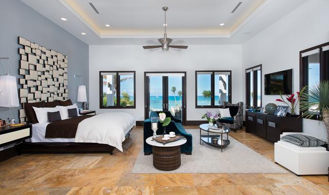 John Residence tropical-bedroom