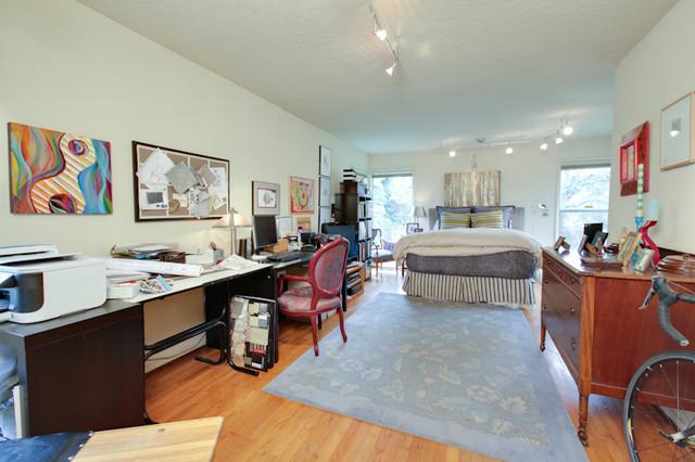john thompsondesigner eclectic-bedroom