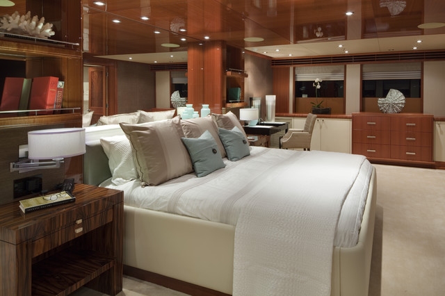JQB Ltd Design - master stateroom contemporary-bedroom