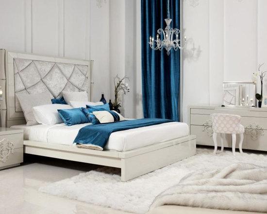 Juliet - Temptation Modern Platform Bed with Tall Headboard - Features
