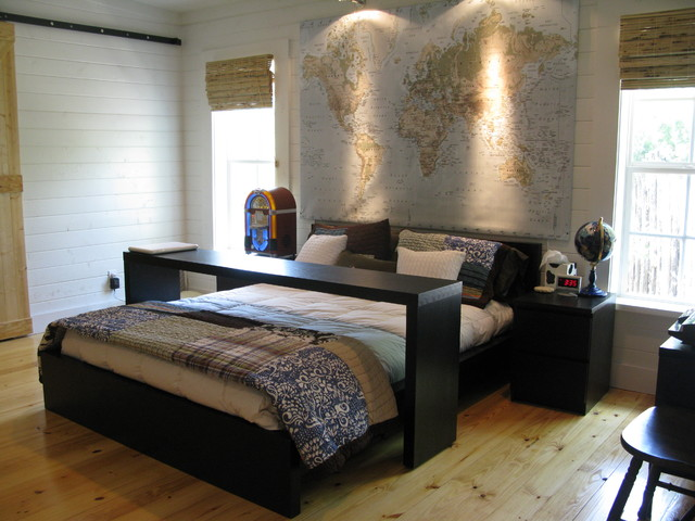 modern bedroom by Van Wicklen Design
