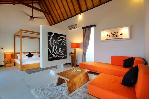 K Villa Bali modern-bedroom