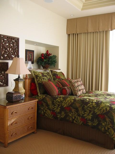 Kaanapali, Maui residence tropical-bedroom